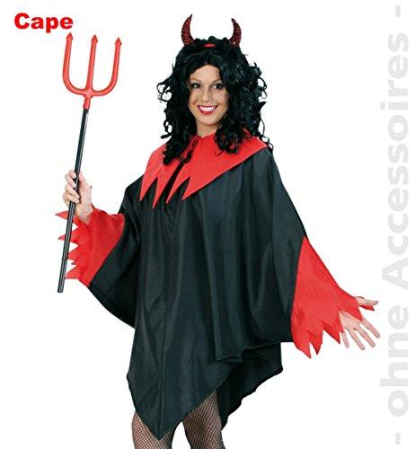 lo (L) zu Karneval, Halloween (Diavolo Kostüm Halloween)