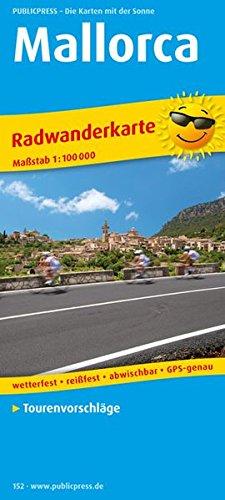 Mallorca: Radwanderkarte mit Tourenvorschlägen, wetterfest, reissfest, abwischbar, GPS-genau. 1:100000 (Radkarte / RK)