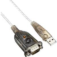 Aten UC232A - Cable adaptador USB a puerto serie, plata