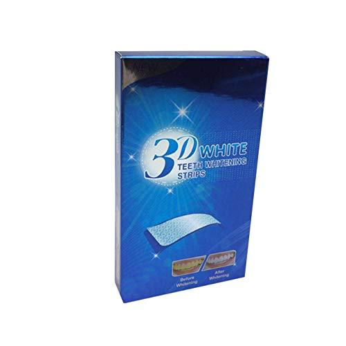 Elviray Gel-Zahnweißungs-Streifen-Mundhygiene-Sorgfalt-Zahnstreifen, der das Zahnbleichen-Werkzeug weiß Wird