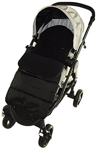 Saco/Cosy Toes Compatible con Cybex Agis paseo negro Jack