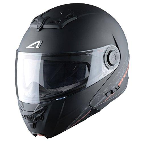 Astone Helmets Klapphelm, Matt Schwarz, XL