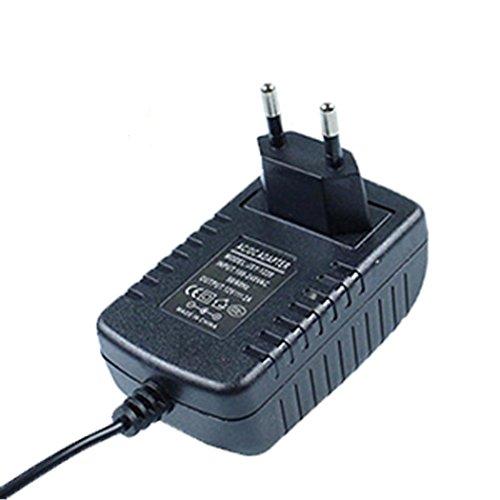 110v Dc-batterie-adapter (Prevently For DJI Mavic Tello Netzteil 12V3A DC Power Adaptor Charger Adapter Power Supply Multi Battery Charger Hub Troy 12V3A Netzteil DC-Kopf Netzteil Transformatoren (Schwarz))