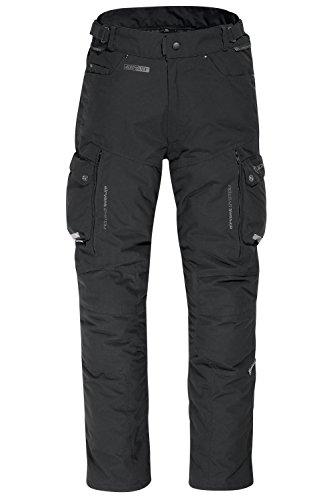 DIFI ATLAS AEROTEX® Motorradhose Color schwarz, Size M