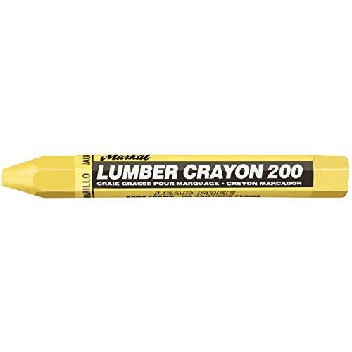 Markal 200Lumber Crayon sparsam Wachs basierend Marker, 1/2