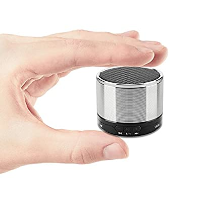 Bluetooth Speaker Lark Bird 3W Driver Portable Travel Wireless Mini Speaker Hands-free Calling Support AUX Line and TF Card Slot Build-in Mic for iPhone iPod iPad, Samsung LG and Smart phone