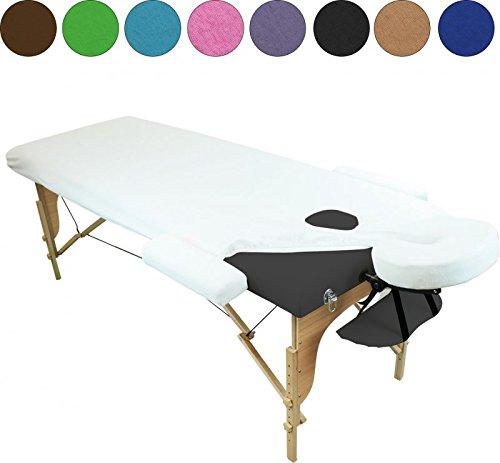 Linxor ® Sábana de protección 4 partes en esponja para mesa de...