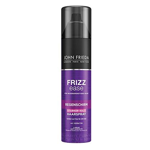 John Frieda Frizz Ease Regenschirm Haarspray - 2er Pack (2x 250 ml) - 24h-Schutz vor Feuchtigkeit - Hairspray für widerspenstiges Haar - mit Keratin