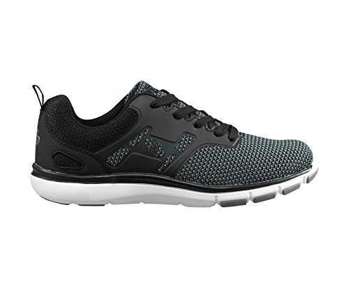 Bruetting Unisex-Erwachsene Skill Sneaker Grau (Grau/Schwarz)