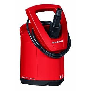 Einhell Tauchpumpe GE-SP 750 LL (750 W, max. 15000 l/h, max. Förderhöhe 10 m, Fremdkörper bis 5 mm, Umschalter für Automatik- und Dauerbetrieb)