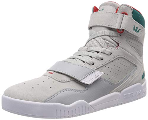 Supra Breaker, Sneaker a Collo Alto Uomo, Grigio (Lt Grey/Teal-White 057), 44 EU