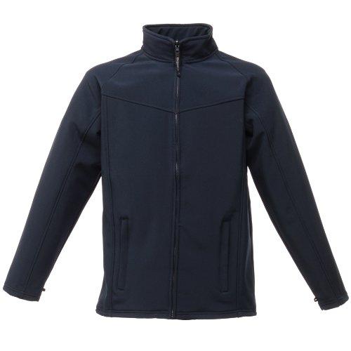 Regatta Mens Uproar Softshell Jacket TRA642 Grey Bleu roi/Gris