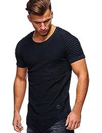 ♚ Camiseta Hombre Vacanda Impresión,Moda Adelgazan el Cuello en V Camiseta Estampada del Músculo Camiseta Tops Casuales…