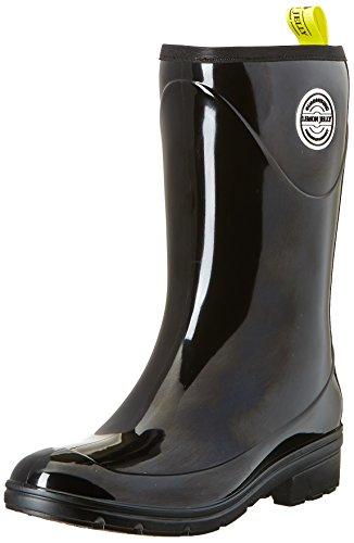 Lemon JellySusie - Stivali da pioggia alla caviglia Donna , Nero (Noir (01 Black)), 39 EU