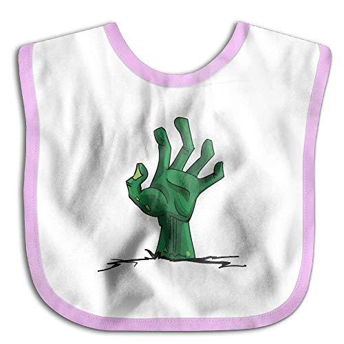 Zombie Hand Funny Baby Bibs Burp Infant Drool Toddler Absorbent Bibs Baby Infant Toddler Bib