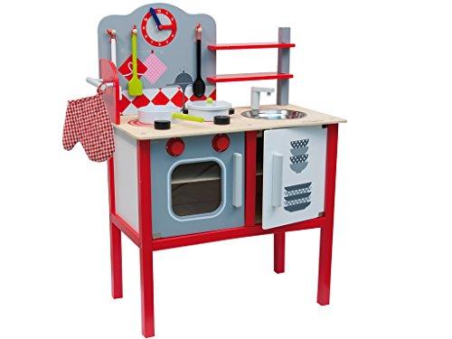 Teorema - 40494 Cucina Giocattolo con Accessori, Legno