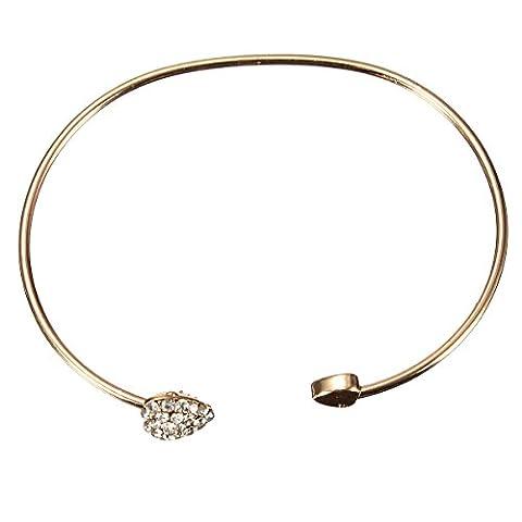Bracelet Bracelet Bijoux Reglable Coeur Metal Mignon Enfant Petite Fille Cadeau
