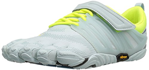 Vibram FiveFingers Damen V-Train Hallenschuhe, Weiß (Pale Blue/Safety Yellow), 38 EU