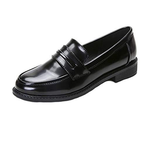 Damen Klassiker Penny Loafers Slip-On Beiläufige Niedrige Flache Comfort Business Dress Oxford Schuhe