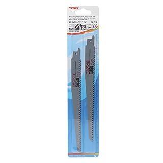 Kaideng Säbelsägeblatt 2High Carbon Stahl 200mm Säbelsägeblätter Sägeblatt für Cutting Metall Stichsägeblätter 6Tpi Holz