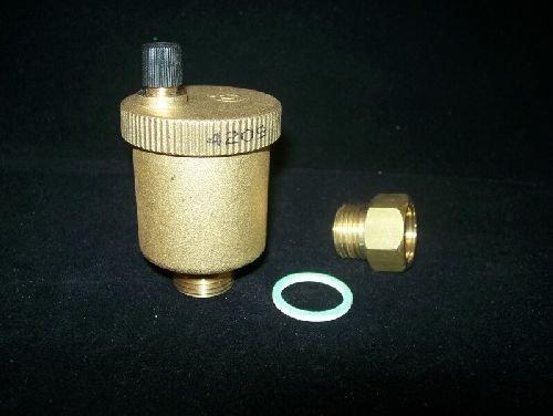Caleffi 502140 Valvola automatica sfogo aria rubinetto MINICAL 1/2'' M