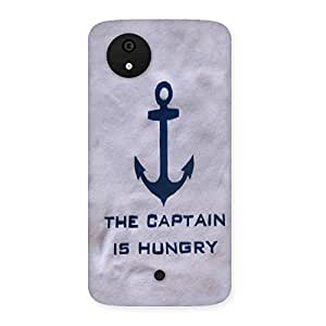 Hungry Captain Back Case Cover for Micromax Canvas A1