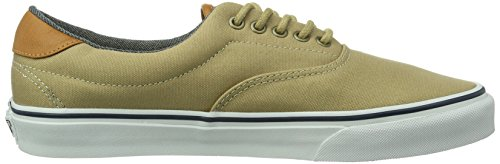 Vans U Era 59, Baskets mode mixte adulte Vert (Khaki/Washed)
