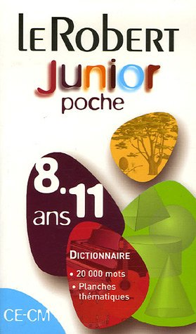 Le Robert Junior de poche CE-CM : 8-11 Ans