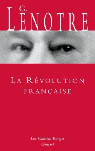 La Révolution française (Les Cahiers Rouges)