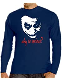 Joker-why so serious? touchlines t-shirt à manches longues