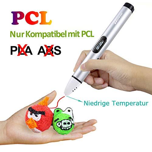 Tipeye PCL Filament Pack - 3D Stift Filament 1.75mm 12 Farbe 6m Pro Farbe...