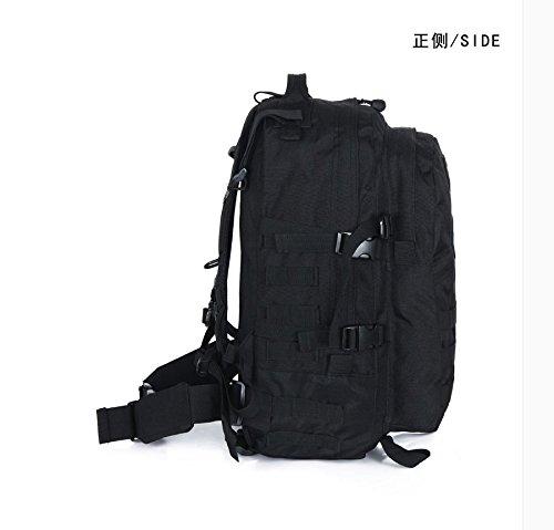 Outdoor zaino camouflage Double borsa a tracolla 52*35*18cm, Army green 36-55 litri Nero 40L