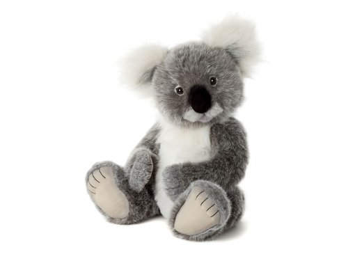 Charlie Bears Cuddly Soft Kennett Koala Teddy Bear 41cm