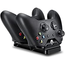 MP power @ Dual Docking Station dock cargador incluye 2 X 1200mAh pilas recargables para Microsoft Xbox one XBOX ONE controlador