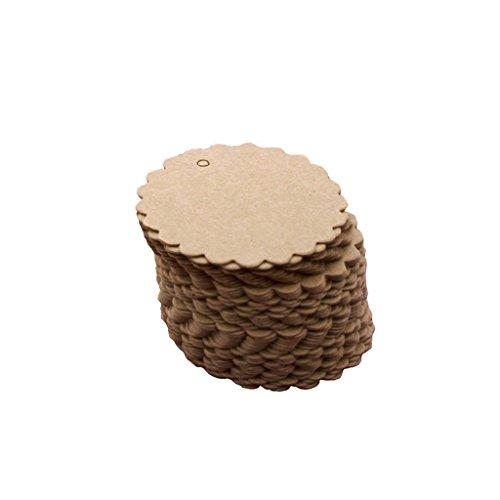 Papieranhänger | Etiketten | 100 Stück