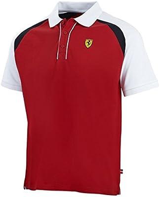 Scuderia Ferrari F1carrera de equipo para hombre Polo rojo