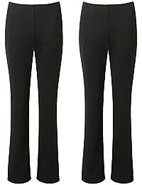 NEW LADIES PEDAL PUSHER  SHORTS WOMENS CAPRI PANTS BLACK WHITE NAVY SIZE 16-26