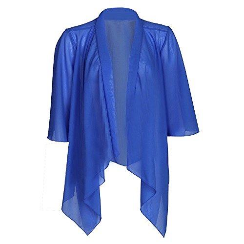 The Home of Fashion Damen Jacke Blau