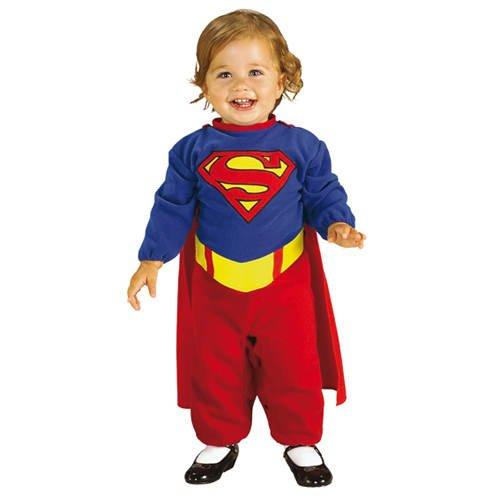 Superman Kleinkind Kostüm - Kinder-Kostüm Superman für Kleinkinder 6-12 Monate