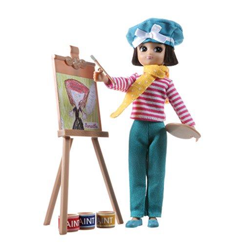Lottie Puppe LT070 Always Artsy - Puppen Zubehör Kleidung Puppenhaus Spieleset - Zubehör Kleidung Puppenhaus Spieleset - ab 3 Jahren