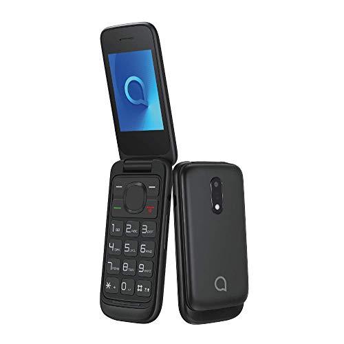 Alcatel 2053D-2AALW81 20.53, Mobilephone, 4 Mb Volcano Schwarz