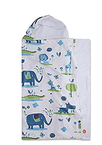 millemarille Juicy Jungle 3110 Hooded Towel,