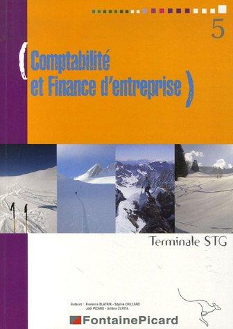 Comptabilité et Finance d'entreprise Tle STG