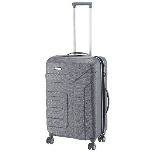 "Travelite Valise trolley ""Vector"" avec 4 roues anthracite Koffer, 70 cm, 79 liters, Schwarz (Anthracite)"