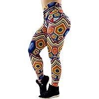 Legging Mujer Push Up,Mujeres Casual impresión Mallas Fitness Leggins Yoga Moda Pantalones Deportivas por Lunule