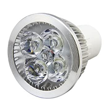 Ossun 4W Dimmable Super Bright GU10 Spotlight LED Light Bulb,Cool White 6500K 40W Equivalent, Energy Saving, Perfect for Replacing 40-50 Halogen Bulbs