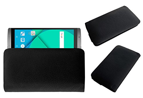 Acm Rich Soft Carry Case For Micromax Canvas Mega 2 Q426 Mobile Handpouch Leather Cover Pouch Black  available at amazon for Rs.179