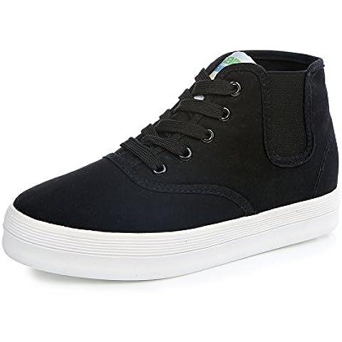 Trifle fondo pesante scarpe/scarpe high-top in tela colore solido/marea scarpe studenti/ragazze selvagge scarpe casual