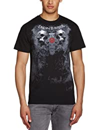 Live Nation - T-shirt Homme - Dream Theater - Double Skull