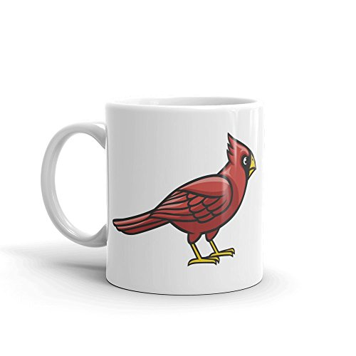 Kardinal rot Bird Maskottchen High Qualität Kaffee Tee 284ml # 5228 (Tee Rot Kardinal)